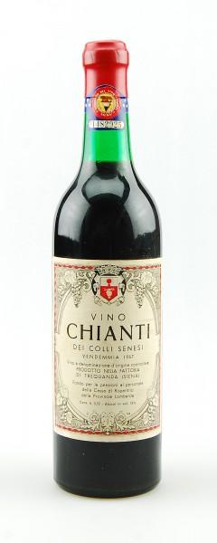 Wein 1967 Chianti dei Colli Senesi di Trequanda