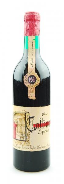 Wein 1961 Gattinara Spanna Vinicola Luigi