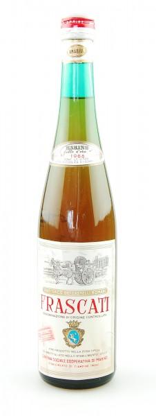 Wein 1968 Frascati Vino Tipico dei Castelli Romani