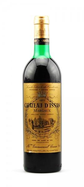 Wein 1977 Chateau D-Issan 3eme Cru Classe Margaux