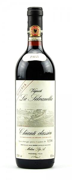 Wein 1981 Chianti Classico Riserva Melini La Selvanella