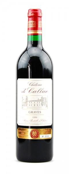 Wein 1996 Chateau de Callac Appelation Graves