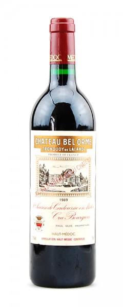 Wein 1989 Chateau Bel Orme Tronquoy de Lalande