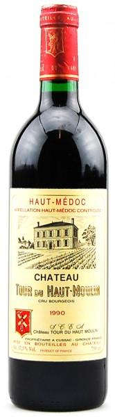 Wein 1990 Chateau La Tour du Haut Moulin Haut-Medoc