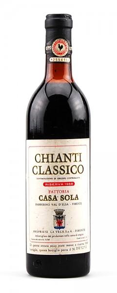 Wein 1968 Chianti Classico Riserva Casa Sola