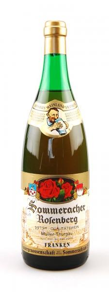 Wein 1973 Sommeracher Rosenberg Müller-Thurgau