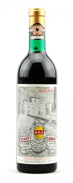 Wein 1968 Chianti Classico Marchese Strozzi Riserva
