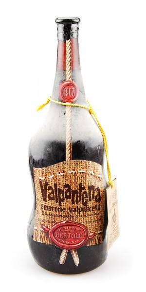 Wein 1967 Amarone Valpantena Bertolo 3,78 Liter