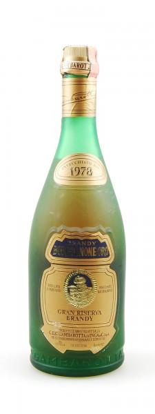 Brandy 1973 Borgognone Oro Gran Riserva Gambarotta