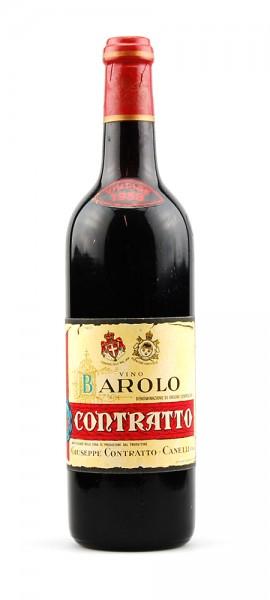 Wein 1958 Barolo Giuseppe Contratto