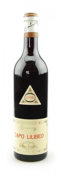 Wein 1958 Capo Lilibeo F.B. Acqui Ola Mia Cantina