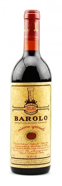 Wein 1971 Barolo Lanzavecchia Riserva Speciale
