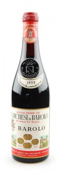 Wein 1959 Barolo Marchesi di Barolo