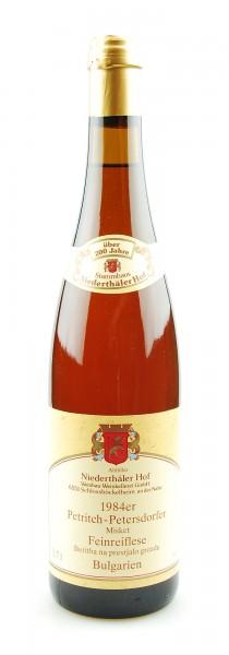 Wein 1984 Petritch-Petersdorfer Misket Feinreiflese