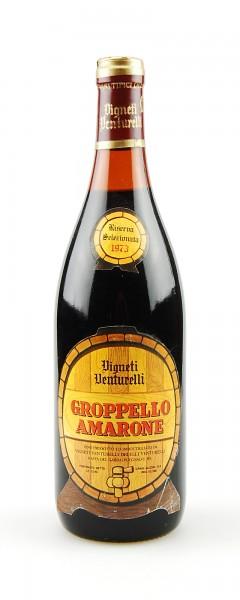 Wein 1973 Amarone Groppello Riserva Venturelli