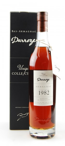 Armagnac 1982 Bas-Armagnac Darroze Domaine de Bouillon