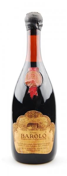 Wein 1958 Barolo Riserva Scanavino Cascina Zoccolaio