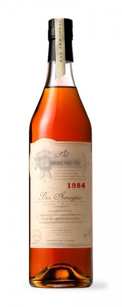 Armagnac 1984 Bas-Armagnac Domaine de Charue