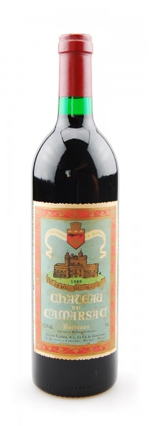 Wein 1989 Chateau de Camarsac