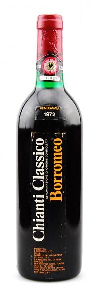 Wein 1972 Chianti Classico Borromeo
