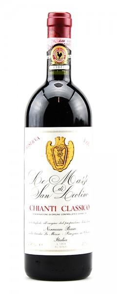 Wein 1991 Chianti Classico Le Masse