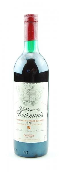 Wein 1972 Chateau Fourminis Vin de la Haute Vallee de L'Aude