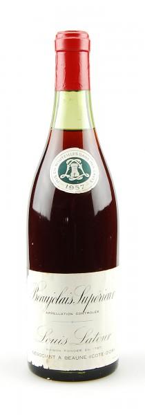 Wein 1957 Beaujolais Superieur Louis Latour