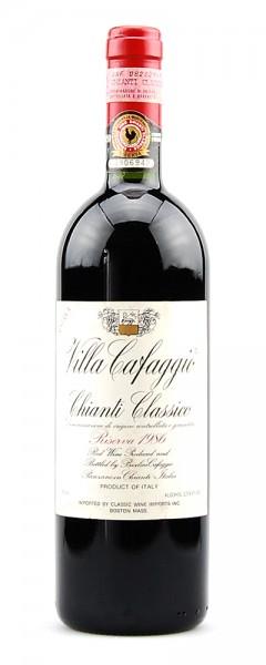 Wein 1986 Chianti Classico Villa Cafaggio Riserva