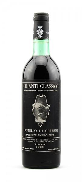 Wein 1966 Chianti Classico Riserva Cerreto Pucci