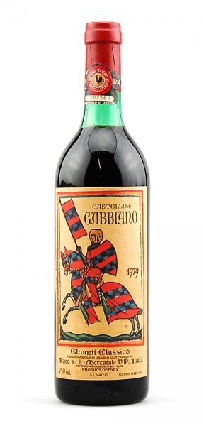 Wein 1979 Chianti Classico Castello di Gabbiano