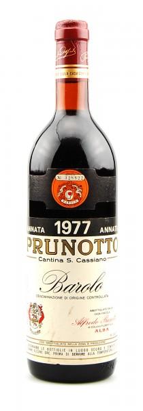 Wein 1977 Barolo Prunotto Cantina Cassiano