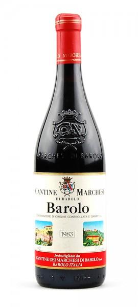 Wein 1983 Barolo Marchesi di Barolo
