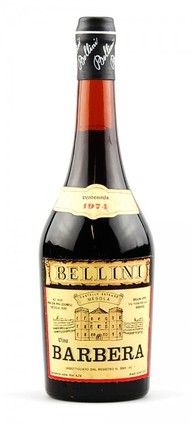 Wein 1974 Barbera Bellini