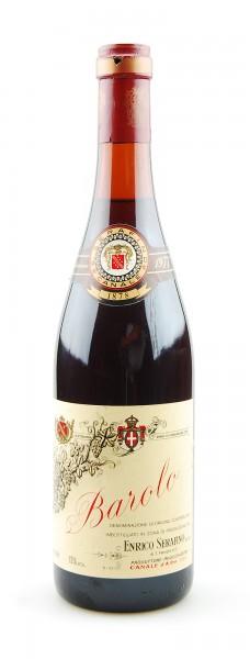 Wein 1977 Barolo Enrico Serafino