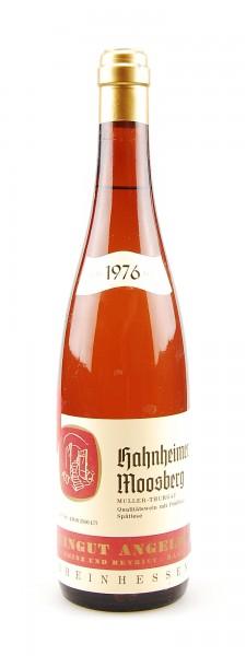 Wein 1976 Hahnheimer Moosberg Spätlese