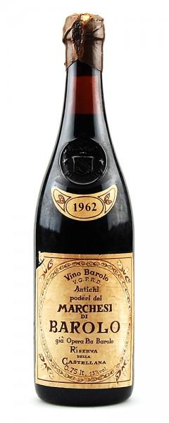 Wein 1962 Barolo Riserva Marchesi di Barolo