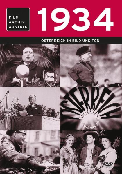 DVD 1934 Chronik Austria Wochenschau in Holzkiste