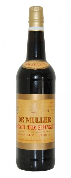 Wein 1918 De Muller Dom Berenguer Rancio Dulce