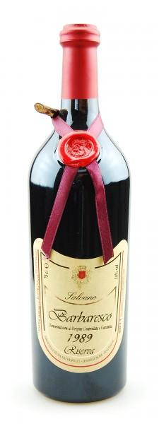 Wein 1989 Barbaresco Riserva Salvano