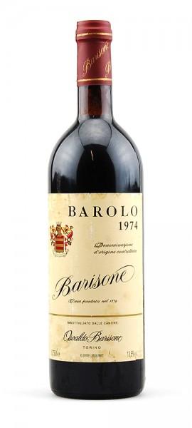 Wein 1974 Barolo Osvaldo Barisone