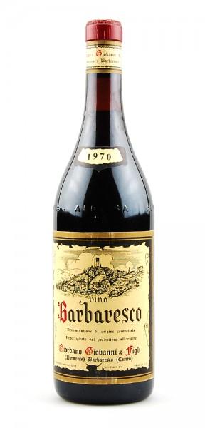 Wein 1970 Barbaresco Giovanni Giordano