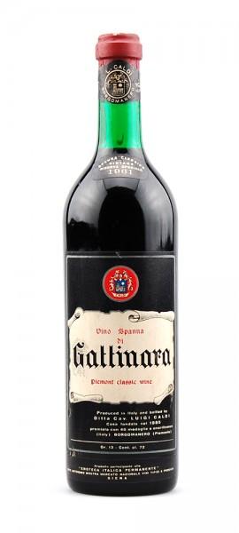 Wein 1961 Spanna di Gattinara Riserva Speciale Caldi