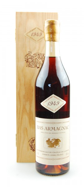 Armagnac 1949 Bas-Armagnac Chateau de Laubade