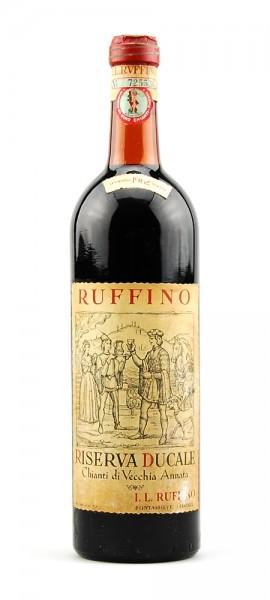 Wein 1962 Chianti Ruffino Riserva Ducale
