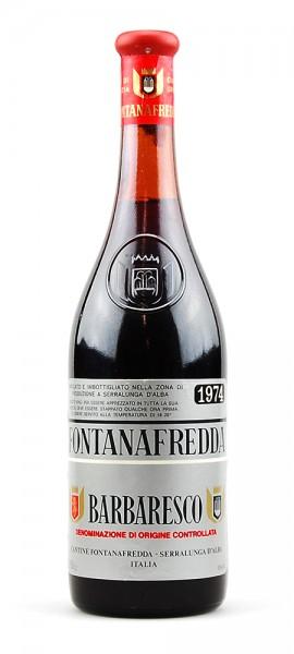 Wein 1974 Barbaresco Fontanafredda