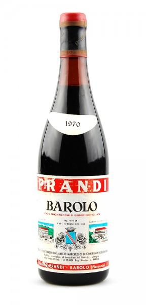 Wein 1970 Barolo Prandi Tenuta Marchesi di Barolo