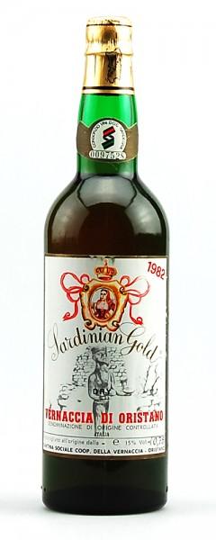Wein 1982 Vernaccia di Oristano Sardinian Gold