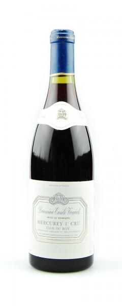 Wein 1988 Mercurey 1er Cru Clos du Roy Emile Voarick