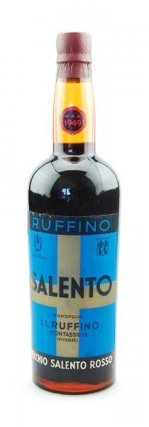 Wein 1949 Salento Ruffino rosso Vino Liquoroso