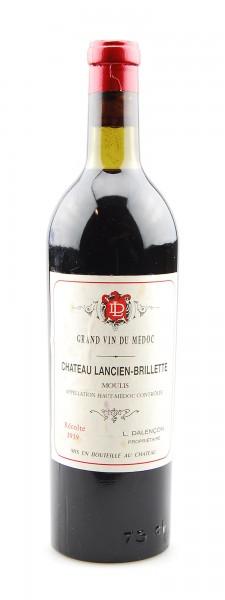 Wein 1939 Chateau Lancien-Brillette Haut-Medoc